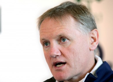 Joe Schmidt almost led his team to a win over New Zealand.
