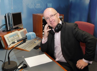 John Murray in studio this morning