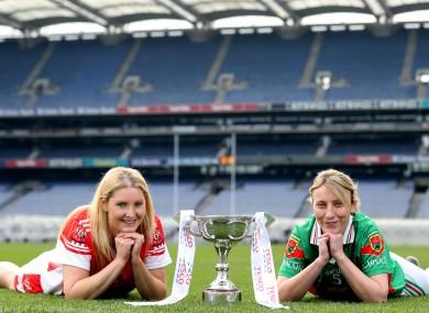 Majella Woods (left) of Donaghmoyne and Marie Corbett from Carnacon.