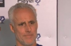 Mick McCarthy blanks questions about O'Neill and Keane in really awkward press conference