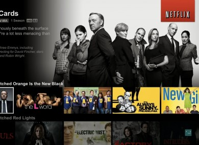 Over a billion hours of shows and movies are watched on Netflix every month.