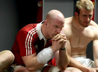 Paul O'Connell, with an ice-pack on his injured arm, reflects on the Lions' first Test win over Australia.