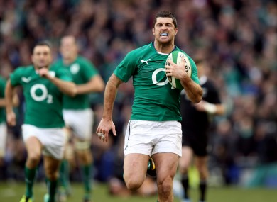 rob kearney on his wonder try and the missing 2 that cost ireland