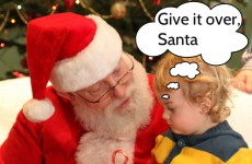 The 9 stages that made visiting Santa an emotional rollercoaster