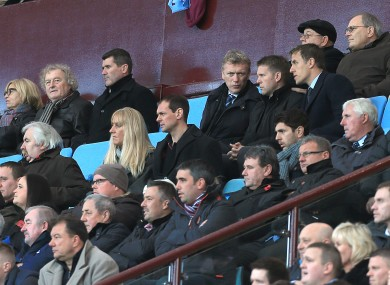 Roy Keane, sat beside Wim Jansen with David Moyes, Phil Neville and Don Givens all close by, was at Villa Park to watch Ciaran Clark.