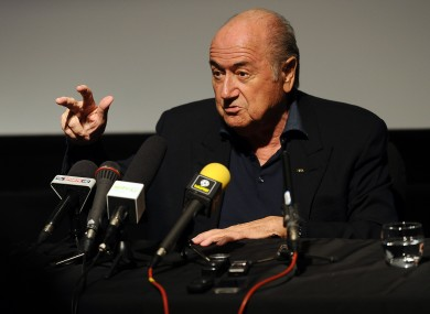 Sepp Blatter is open to hearing Qatar's explanations after accusations of abuse of workers.