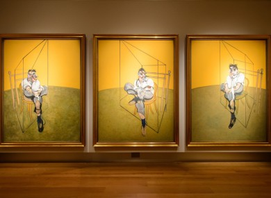 Francis Bacon's 'Three Studies of Lucian Freud'.