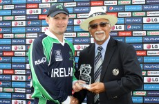 William Porterfield set a new Irish cricket record against the USA this morning