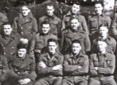 Soldiers who served with the British army.
