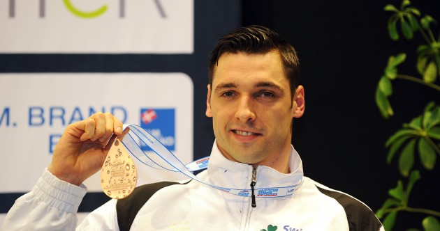 Ireland's Barry Murphy wins bronze medal at European Swimming Championships