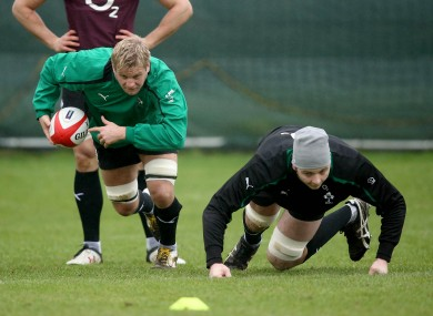 Chris Henry and Iain Henderson should figure against Munster on Friday.