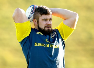 Duncan Casey could make his Munster debut tomorrow.