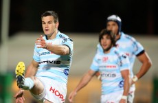 Sexton gains revenge over Wilkinson as Racing see off Toulon