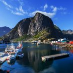 Visit the world's largest deepwater coral reef in the Lofoten Islands, an archipelago off the coast of Norway that lies within the Arctic circle. It's home to wildlife like otters, moose, puffins, and more.<span class=