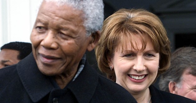 In pictures: Mandela's Ir