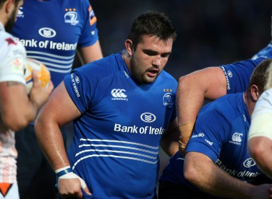 Martin Moore has played 12 games for Leinster this season.