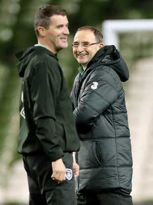 Roy Keane and Martin O'Neill took over as the new Irish coaching ticket.