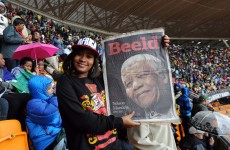 """South Africans honour """"giant of history"""", Madiba"""