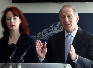 Former US diplomat Richard Haass, with Harvard professor Meghan O'Sullivan