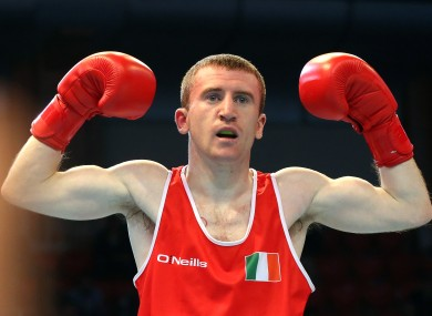Paddy Barnes told RTE he may turn professional if the opportunity arises.