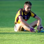 Barry was better known as a Gaelic footballer but he also played hurling for Wexford.<span class=