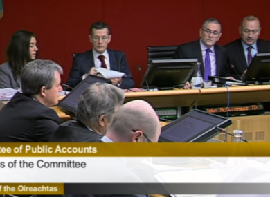 Members of the Public Accounts Committee this morning