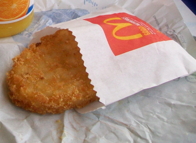 Not the offending hash browns.