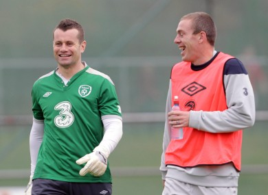 Shay Given and Richard Dunne were in fine form for their respective clubs today.