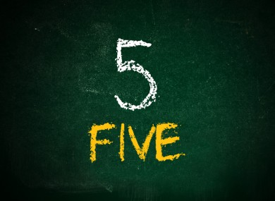 The 5 at 5