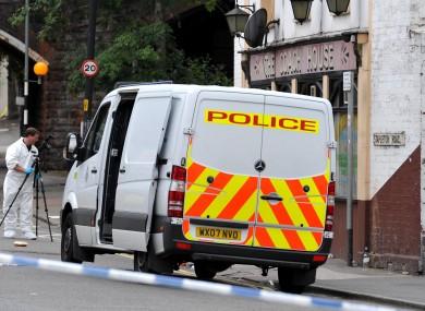 A police van in Bristol (File photo)