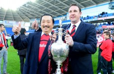 MacKay told to jump or be pushed from Tan's Cardiff ship — reports