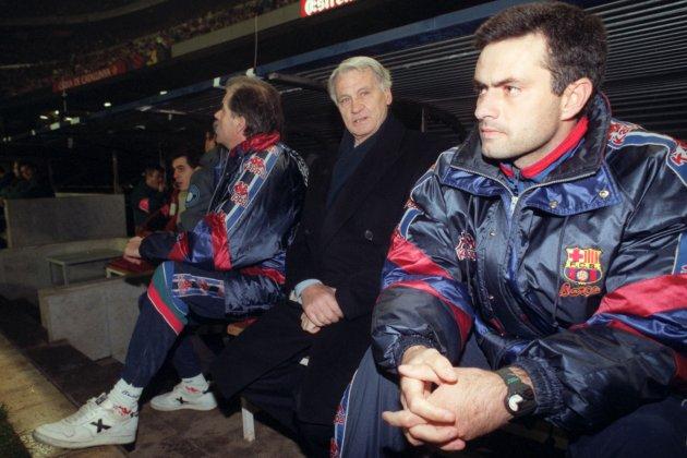 Then Barcelona Coach Bobby