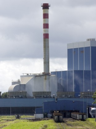 Bord Na Mona Edenderry Power Station in County Offaly