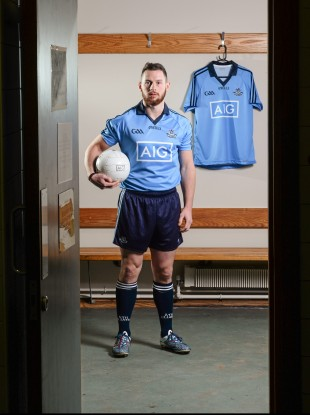 McMahon: made his first Championship start of 2013 in the All-Ireland final.