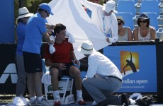 Anger over 'inhumane' heat at the Australian Open
