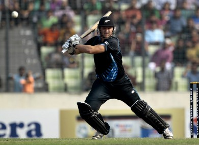 Corey Anderson is beat the previous record, held by Shahid Afridi, by one ball.