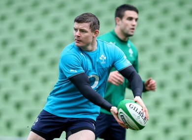 Brian O'Driscoll is set to face Scotland for the final time on Sunday.