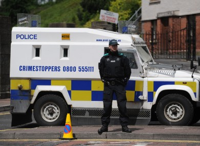 PSNI officer (File photo)