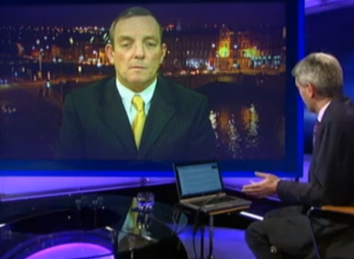 TD Jerry Buttimer speaking to RTÉ's Prime Time programme last night.