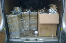 Pics: 100,000 cigarettes in unmarked boxes seized in Munster