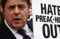 'No surrender!': BNP leader Nick Griffin's response to being declared bankrupt