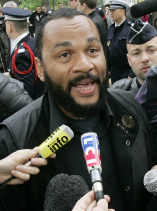Controversial French comic Dieudonne.