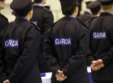 Members of An Garda Síochana.