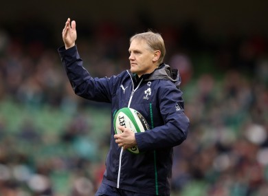 Ireland coach Joe Schmidt.