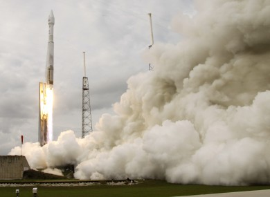 The NASA MAVEN rocket is on its way to Mars, but only to take pictures.