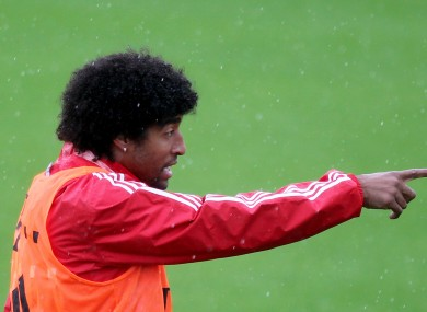 New man; Bayern Munich defender Dante.