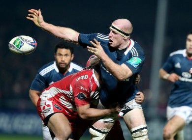 O'Connell led the defensive display for Munster, as well as contributing in attack.