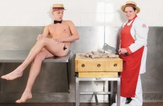 Dublin supermarket's Butchers in the Buff calendar raises a small fortune for charity
