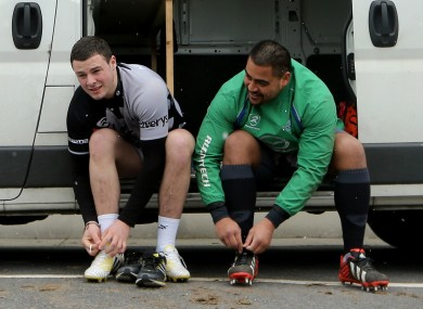 Robbie Henshaw and Rodney Ah You lace-up for action.