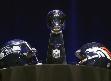 The Vince Lombardi trophy is up for grabs on Sunday night.